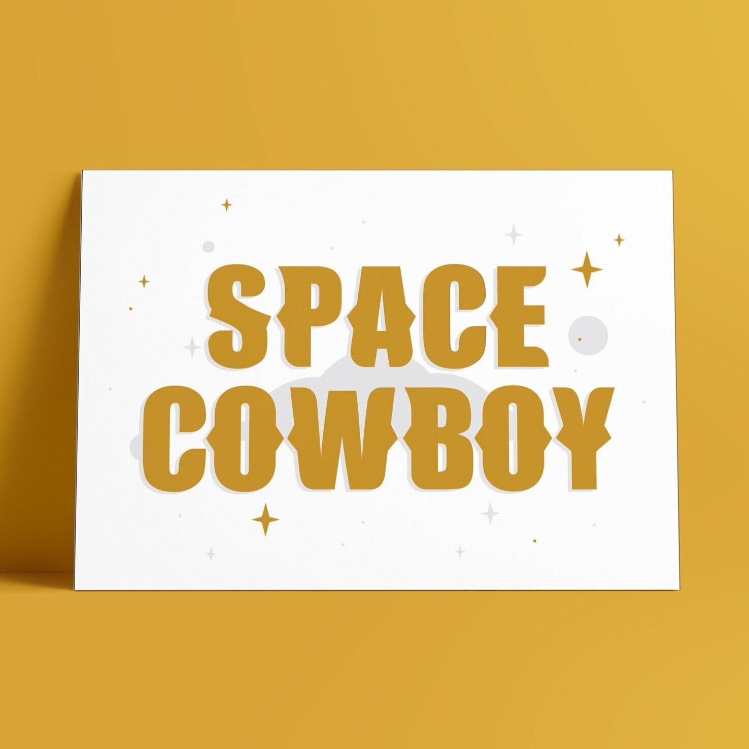 Space Cowboy - Gold