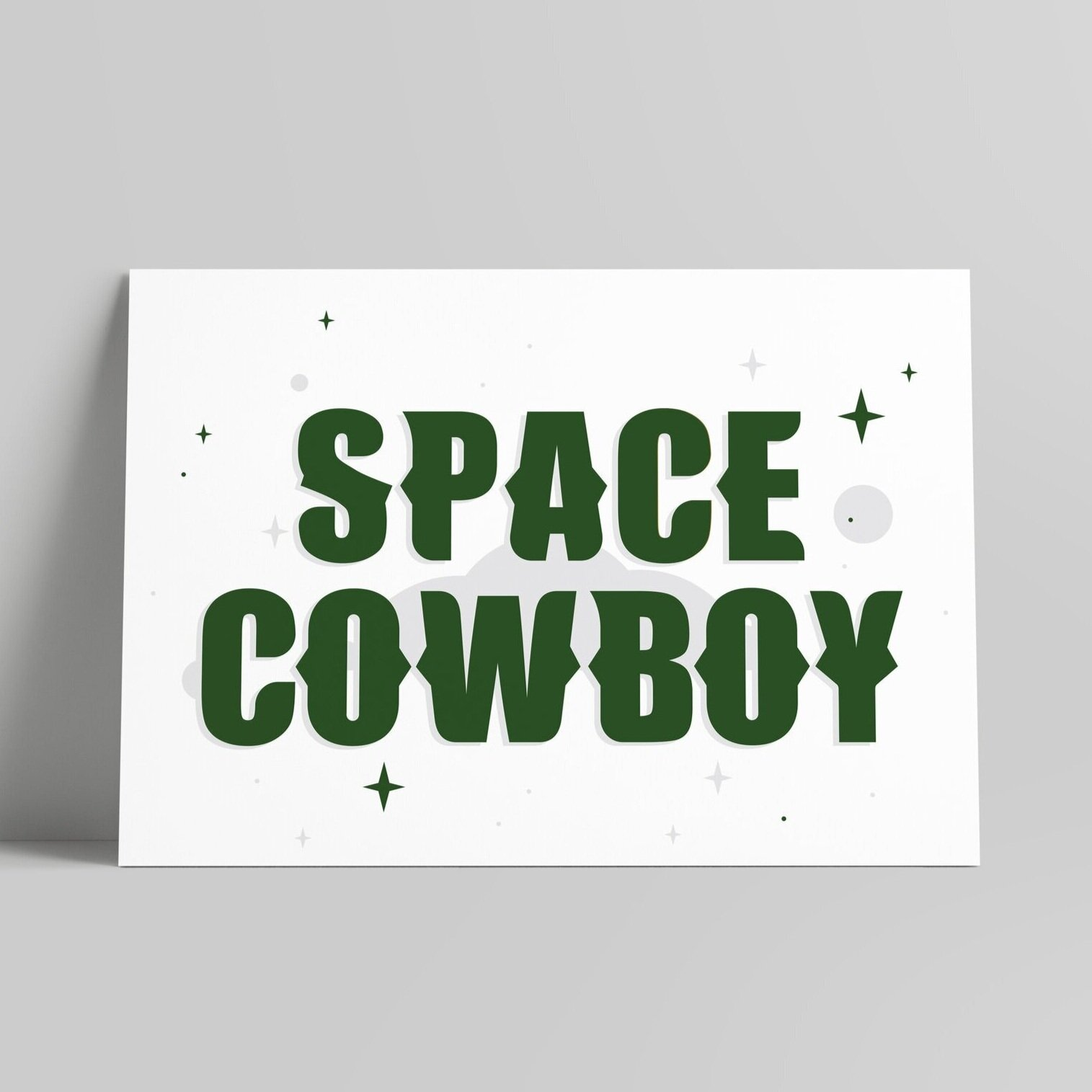 Space Cowboy - Forest Green