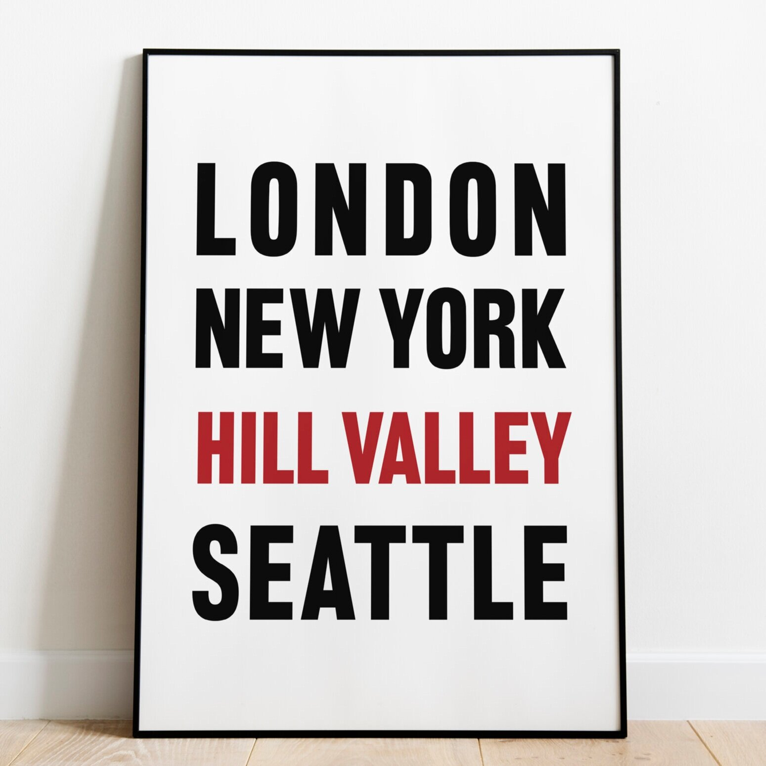 Travel - Hill Valley