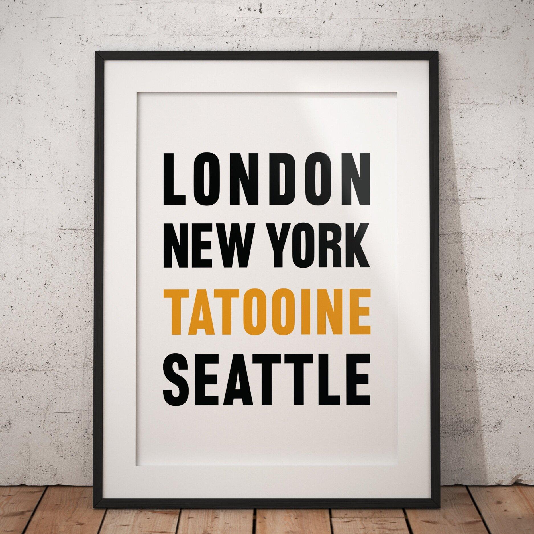 Travel - Tatoine