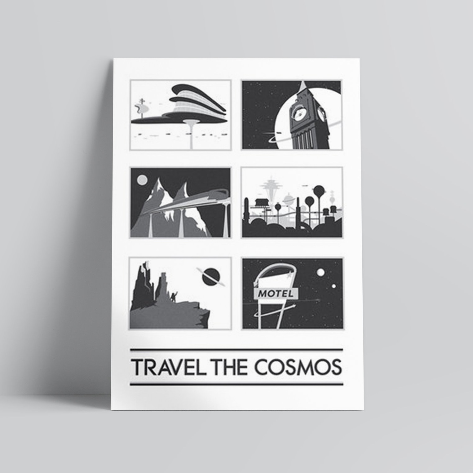 Travel the Cosmos