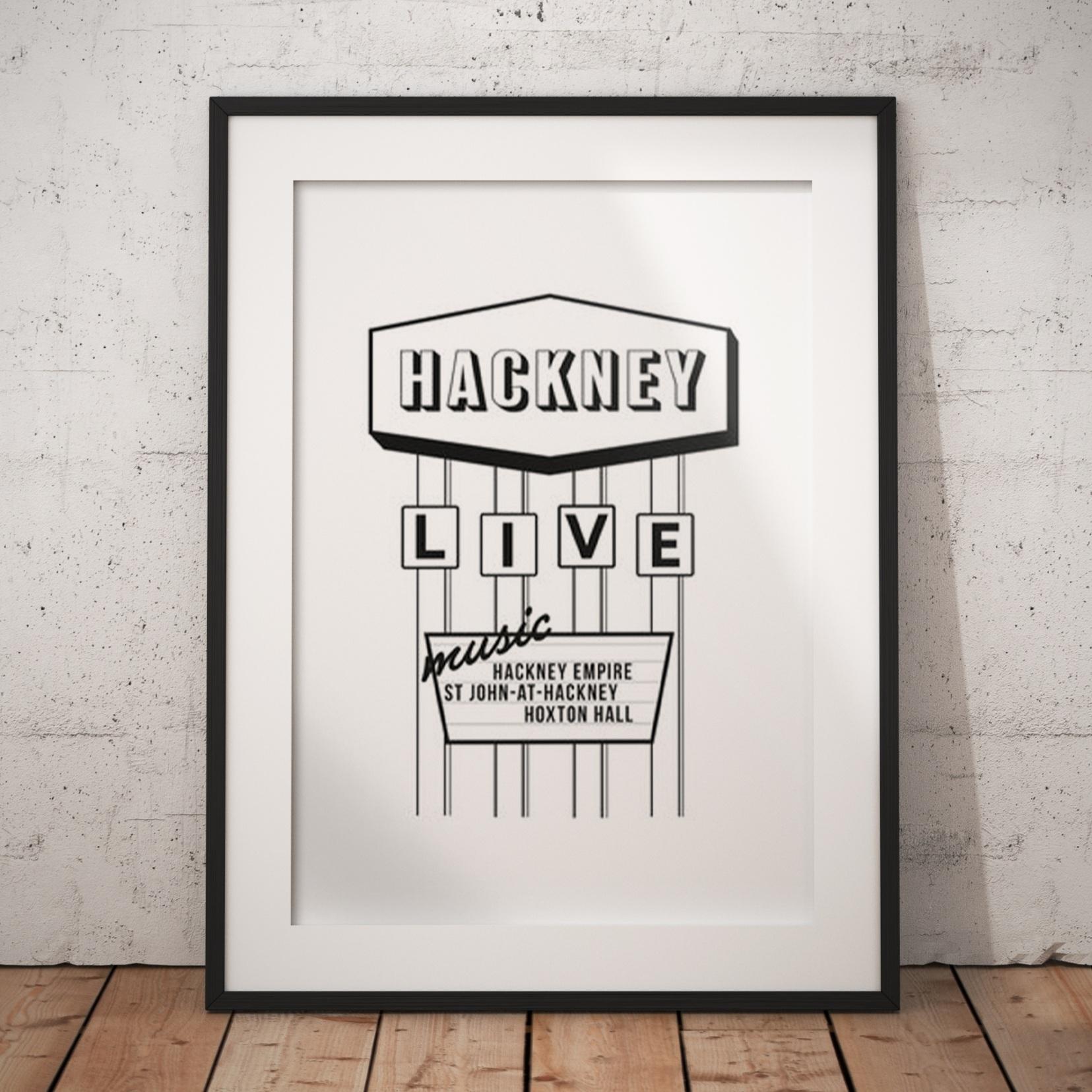 Hackney Motel Sign