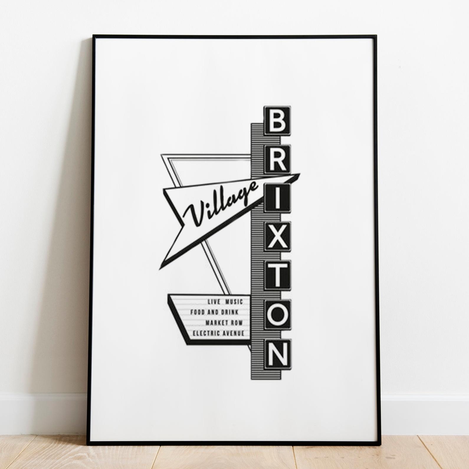 Brixton Motel Sign