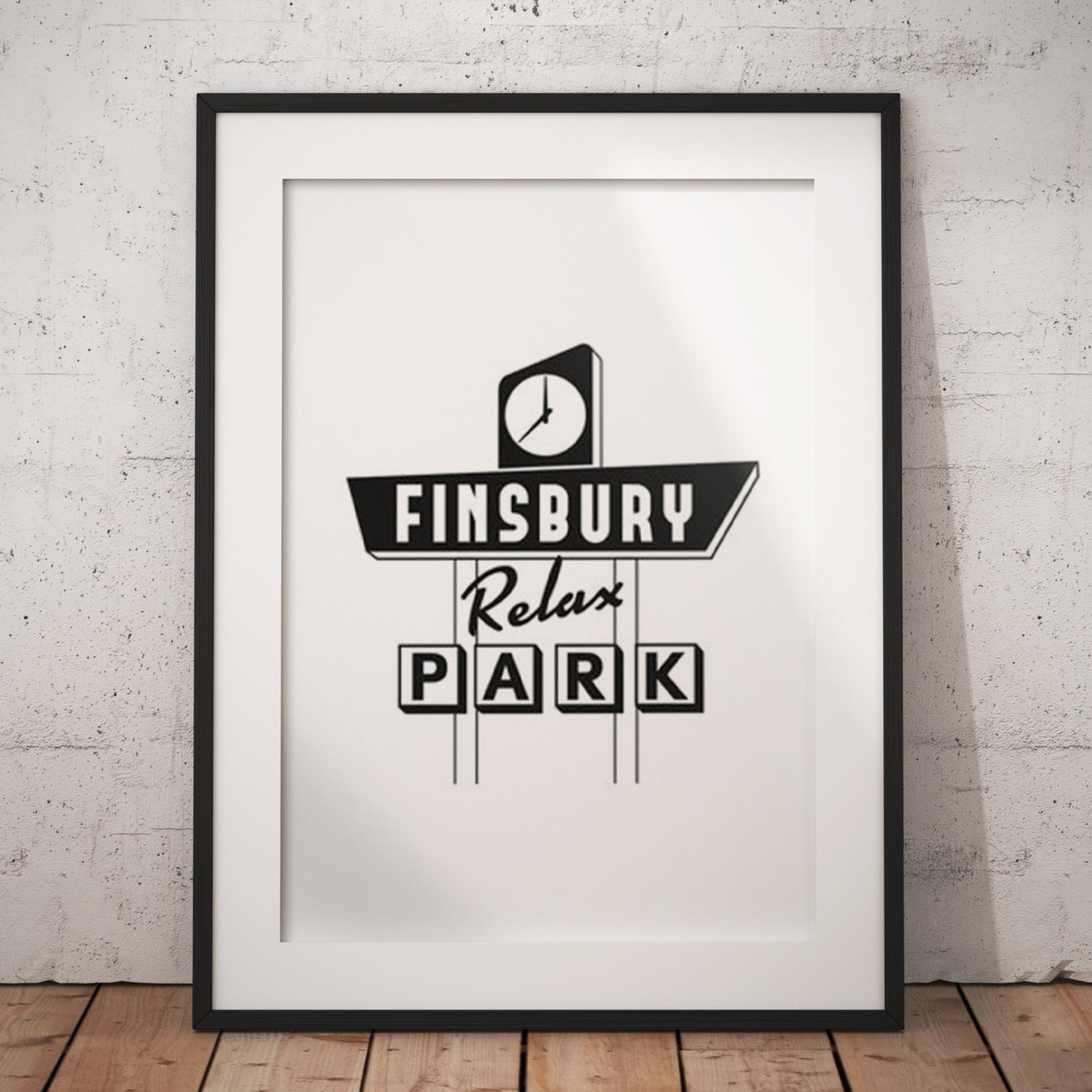 Finsbury Park Motel Sign