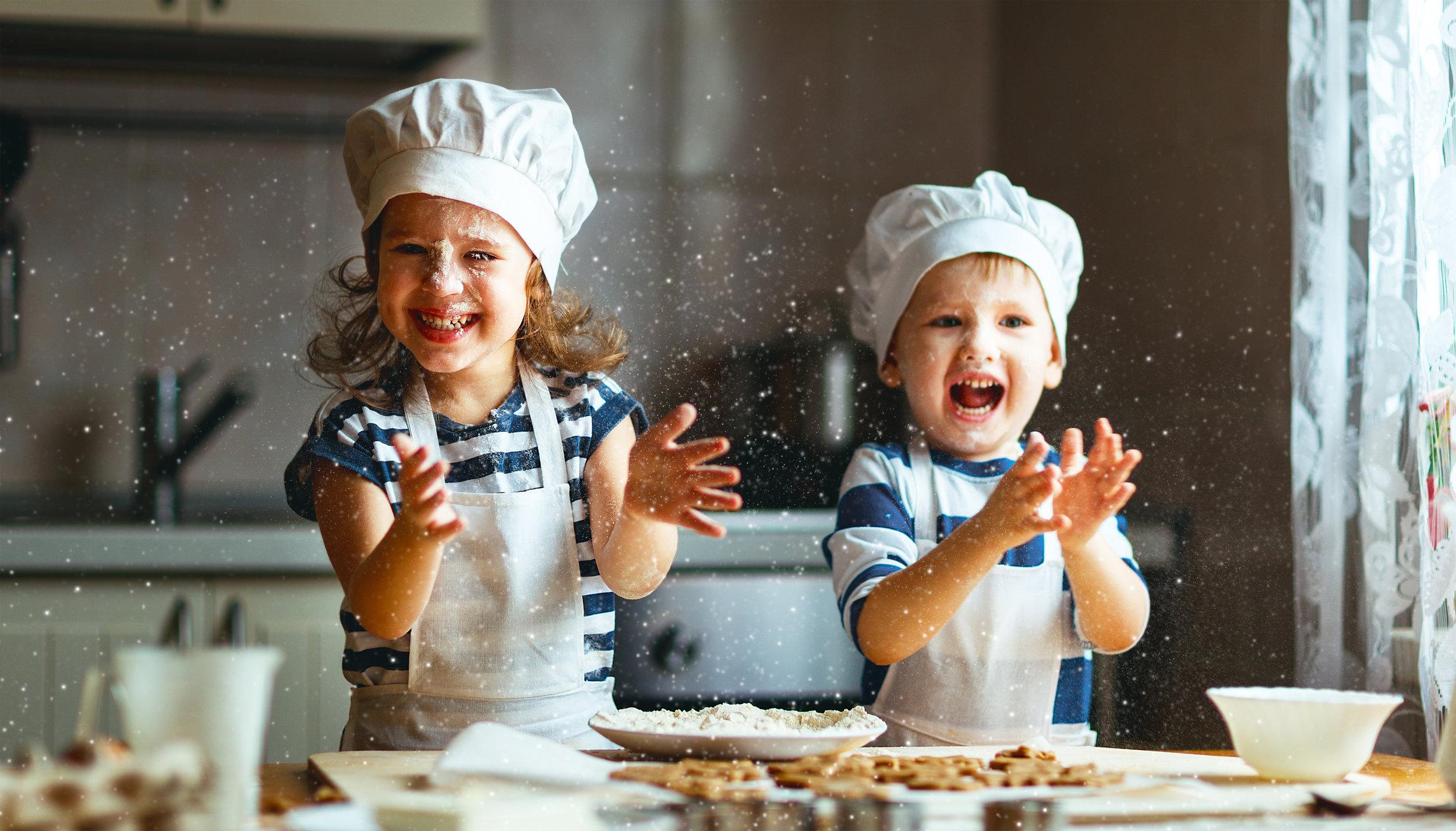kids clapping flour kitchen.jpg