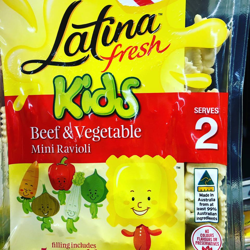 """We all need a quick and easy go to kids dinner don't we! .....This is a good option for """"that meal""""  ✅quick and easy- cooks in 5 mins  ✅low GI carbohydrate ✅reasonable salt content ✅reasonable fibre content ✅has a """"sniff"""" of added meat and veggies - ok for """"that meal"""" ✅low in sugar  ❌not a great source of added nutrients as very low in meat (10% beef) and vegetables (10% total) ....you can't really count them as significant in terms of daily intake  🍝Bottom line - this is are good option for that """"quick and easy"""" meal when the alternative is takeaway!  🍝serving with a tomato based sauce +/- a carrot grated in will further improve this dish!"""