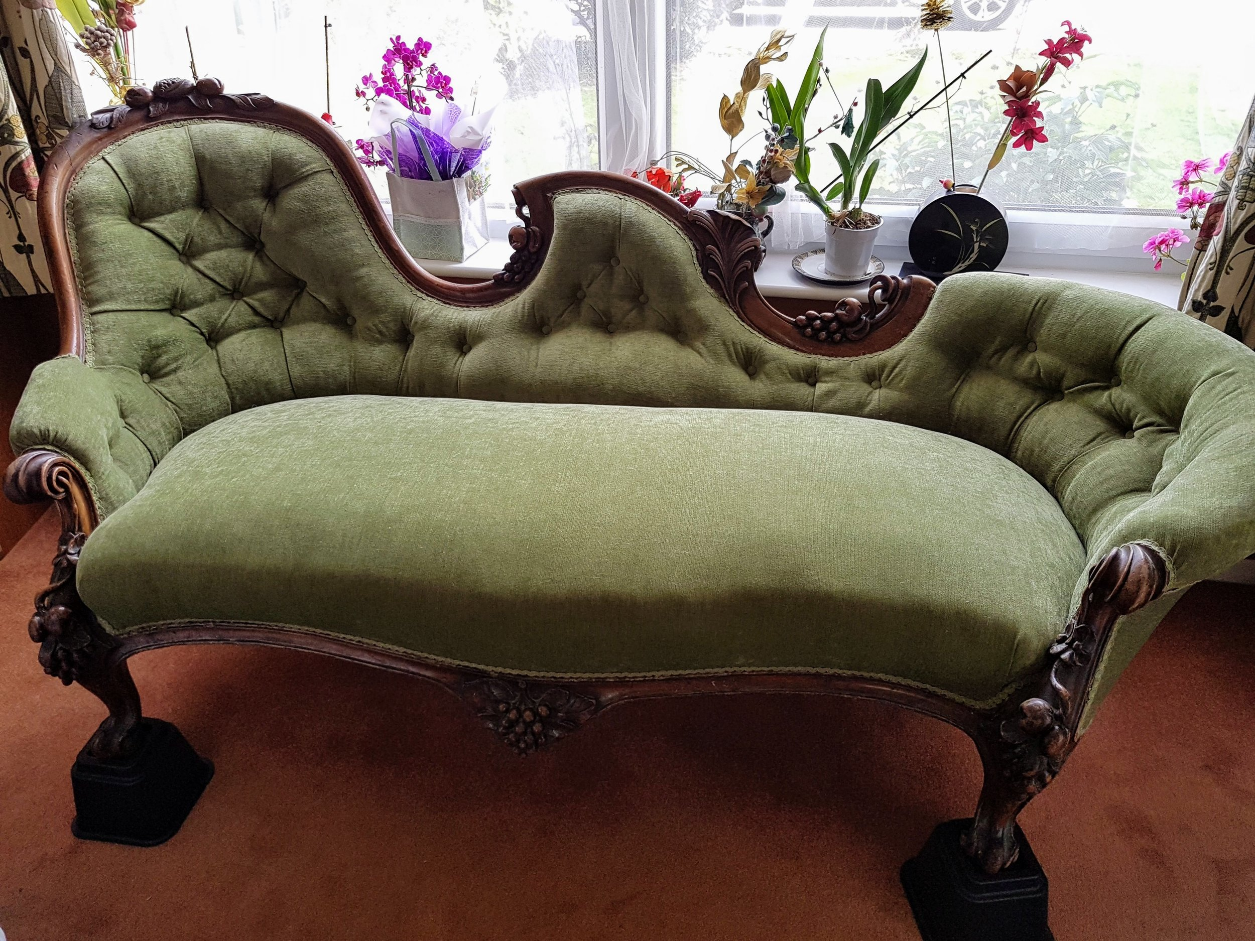 19th Century French Chaise - After