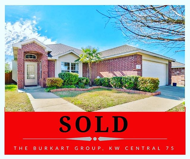 Here we go again...another great home SOLD in Wylie.