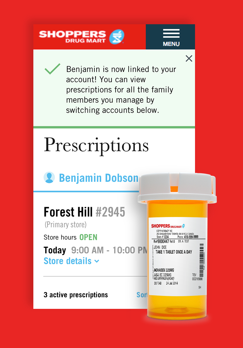Digital Pharmacy - Check it out ➝Managing your prescriptions on an ongoing basis can be cumbersome and for those living with chronic illnesses it can be a full time job. We recognized that. We also recognized that the traditional process of refilling a prescription had a lot a room for improvement. In an effort to help our patients better manage their prescription and to encourage adherence to their medication we introduced mypharmacy.shoppersdrugmart.ca. This platform, which is a first of its kind in Canada, allows patients to not only refill and transfer prescriptions but also set refill reminders via SMS or email and digitally manage their own prescriptions. But that was just the MVP. After our initial launch the team connected with our users and learned that many of them are also managing the prescription profile of a loved one. Our answer: Caregiver. This fast follow functionality now allows users to digitally manage the prescription history and refills for those who need them the most. Our team on digital pharmacy is truly passionate about the healthcare space and is dedicated to the mission of helping Canadians live life well. Inspired by helping others? Reach out. We're hiring!
