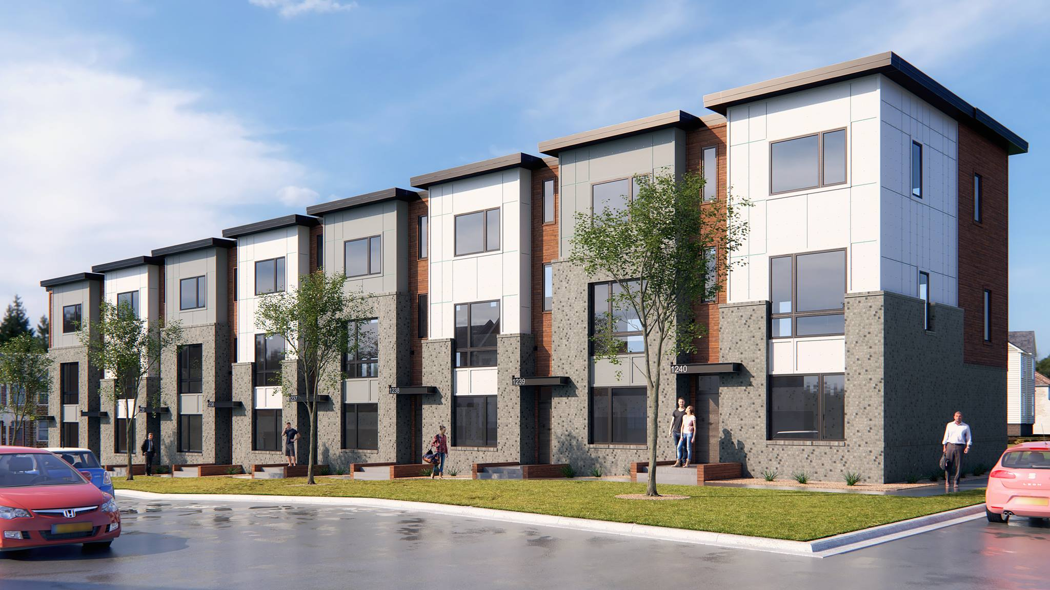 Vibe City Homes - HV Urban Development in East Nashville