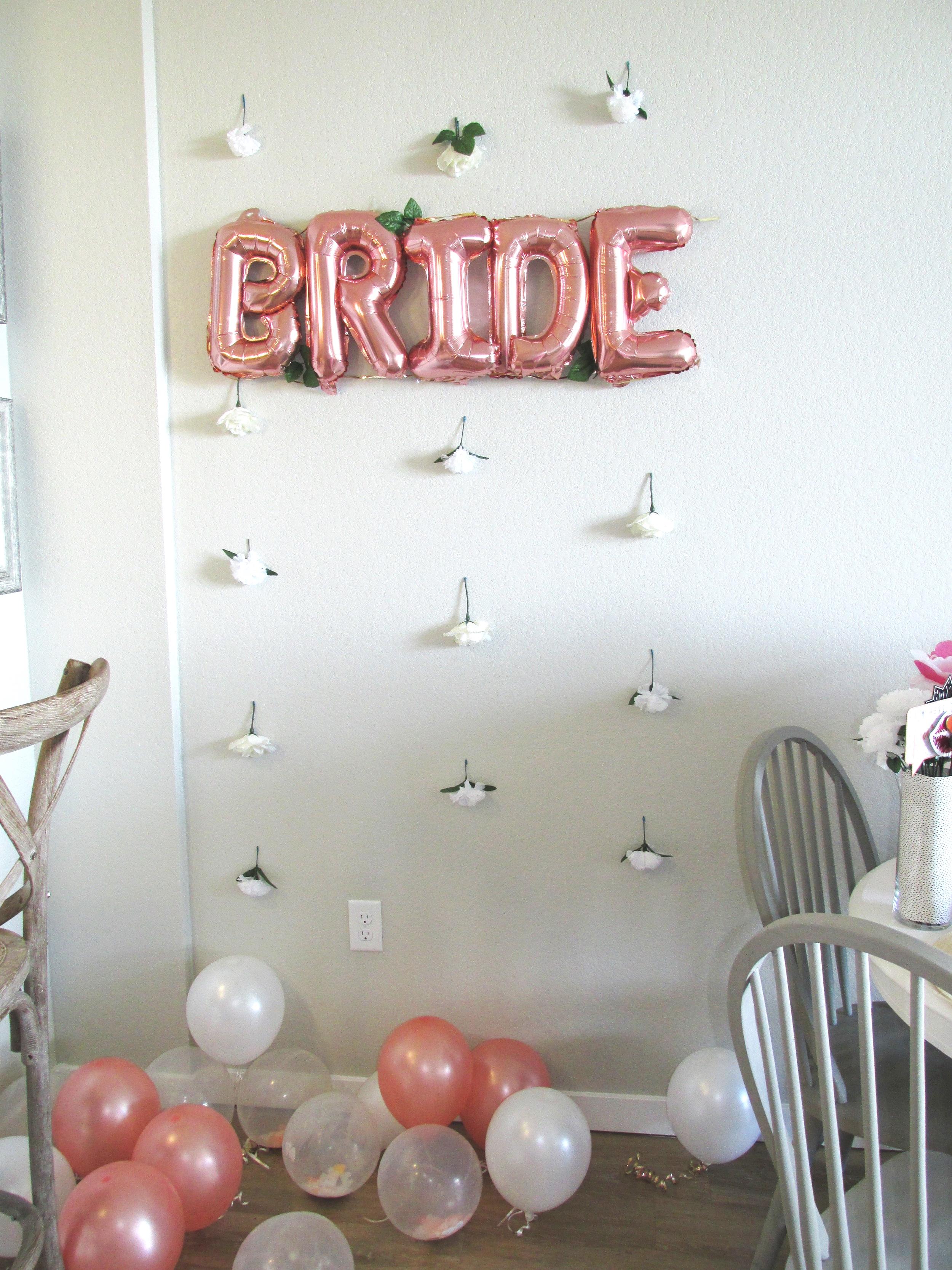 Rose+gold+bride+balloon+bachelorette