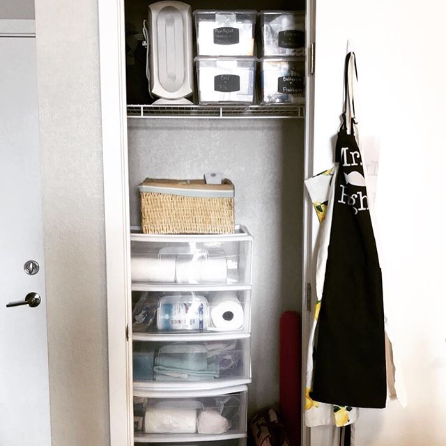 Cleaning out my space makes my home less cluttered but also it clears my mind! I love our new set up in our coat closet. . . . #homes #homeorganization #kitchenorganization #simplify #declutter #undersinkstorage #inspire_me_home_decor #imsomartha #organizedkitchen #homeorganizing #mariekondomethod #professionalorganizer #denverorganizer #clutterfree #organizedhome #declutteryourlife #organizingtips #tidyingup #thecontainerstore #idlivesimply #minimalistlifestyle #cleartheclutter #thedeclutteredlife #livewithless