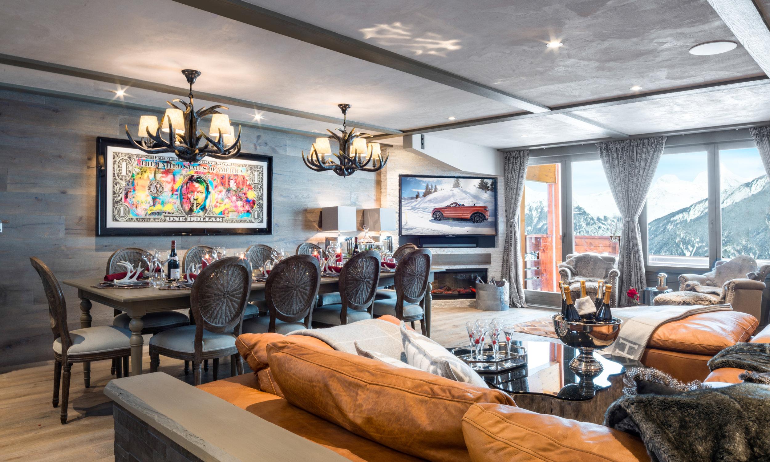 Courchevel Luxur rental height of luxury