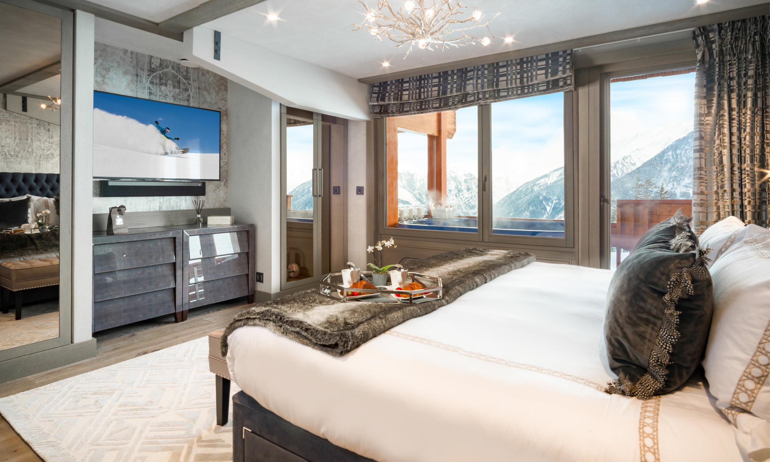 Courchevel Luxury rental elegant accommodations