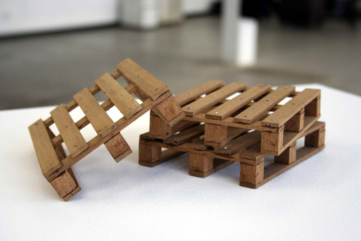 Pallettes, Exhibited at Sartorial contemporary Art & Fieldage Gallery London, 2006