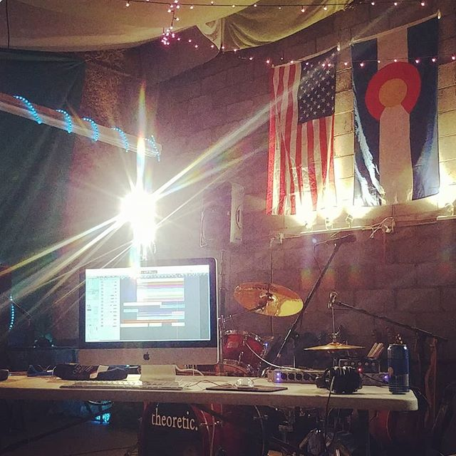Tuesday Night in the studio. Hoping to finish mixing tonight and move on to mastering. Stay tuned, folks!  #newjams #endlessedits #postproduction #isthisforever #Denverbands #Coloradomusic #diyrecording #newsongscomingsoon #theoreticmusic
