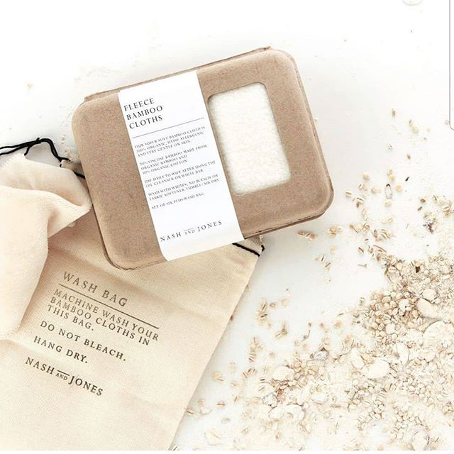 A set of four of the softest double-sided cloths that are sure to become your favorite part of cleansing. Gentle on skin, made of organic cotton and bamboo, and naturally antimicrobial, these cloths elevate the mundane task of cleansing from a necessity to a pampering self care ritual. The perfect new mom/baby gift as both are sure to enjoy them! . . . . . #babygift #newmomgift #giftideas #momlife #lovetheskinyourein #bamboo #organicbamboo