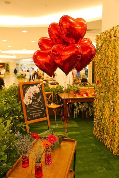 Jardim do Amor no Shopping Leblon