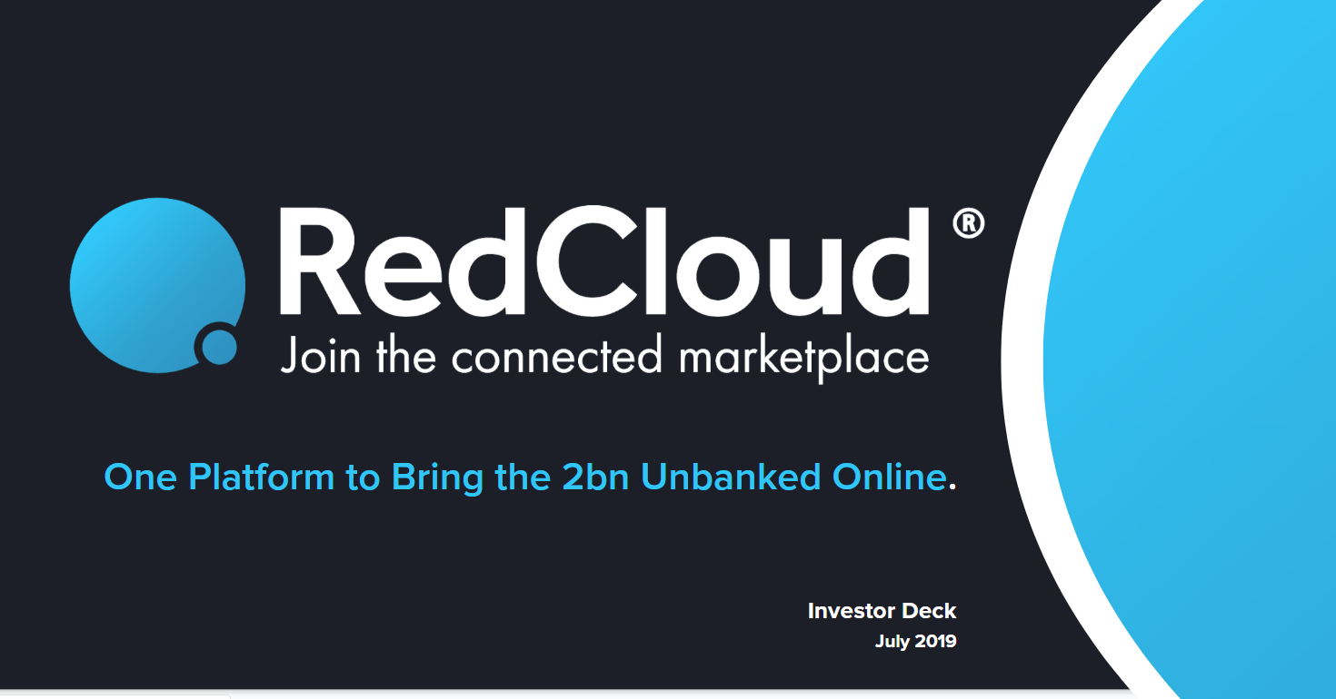 Dedicated to Disruption. - Click the link below to view more about RedCloud and how we're solving a $19TN B2B Cash Payments problems with our groundbreaking, universally accessible bankless digital payments platform and financial services marketplace