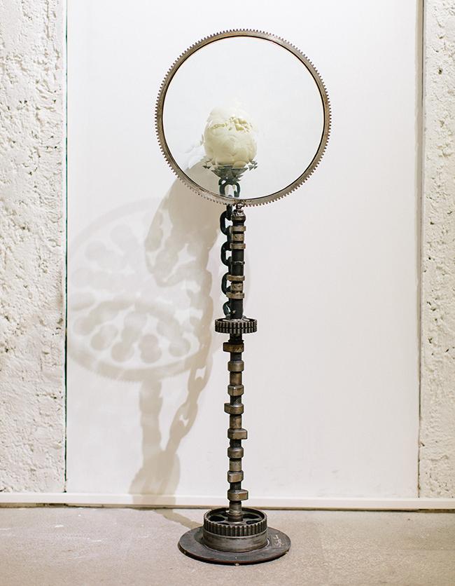 Magiscope, 2015  Art Object  107 x 36 x 36 cm