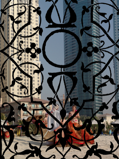 Cultural Blend , 2016  Fotografía digital intervenida  98 x 74 cm