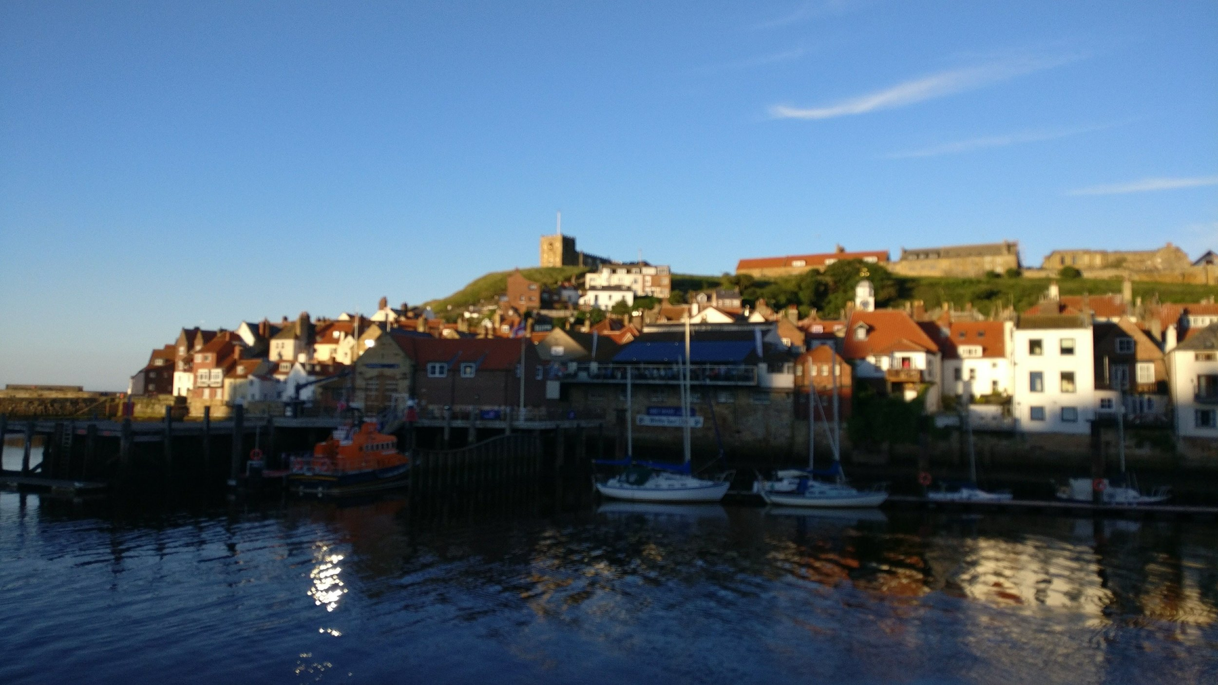 Whitby from the Quayside