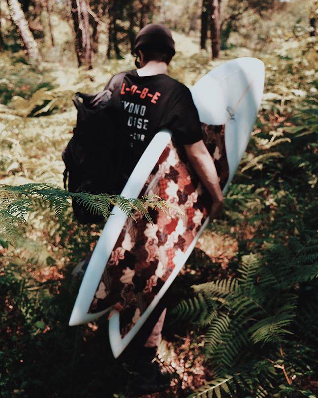 La forêt. Photo by @villalovee . . #forest #nature #waves #surf #surfing #lost #adventure #lifestyle #summer #photo #photography #trip #surftrip #hossegor #landes #france