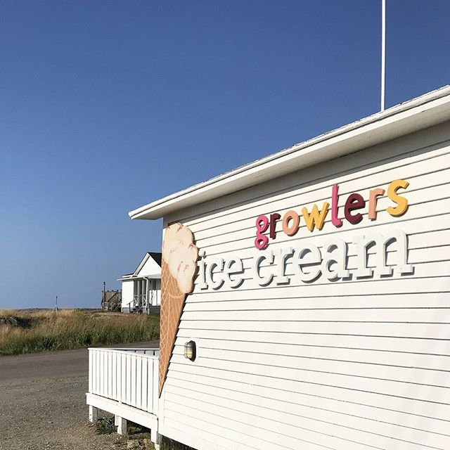 Have you heard? @growlersicecream is open THIS weekend, from 12-8pm, Friday, Saturday, and Sunday!⠀ ⠀ We know we're not the only ones jumping for joy to hear that we can once again enjoy the delectable flavours that Growlers is famous for. Handcrafted here on Fogo Island, Growlers features regional ingredients in its inimitable ice cream. See you at 125 Main Road in Joe Batt's Arm this weekend as we all enjoy our first Growlers fix of the season.⠀ ⠀ #icecream #exploreNL #fogoisland