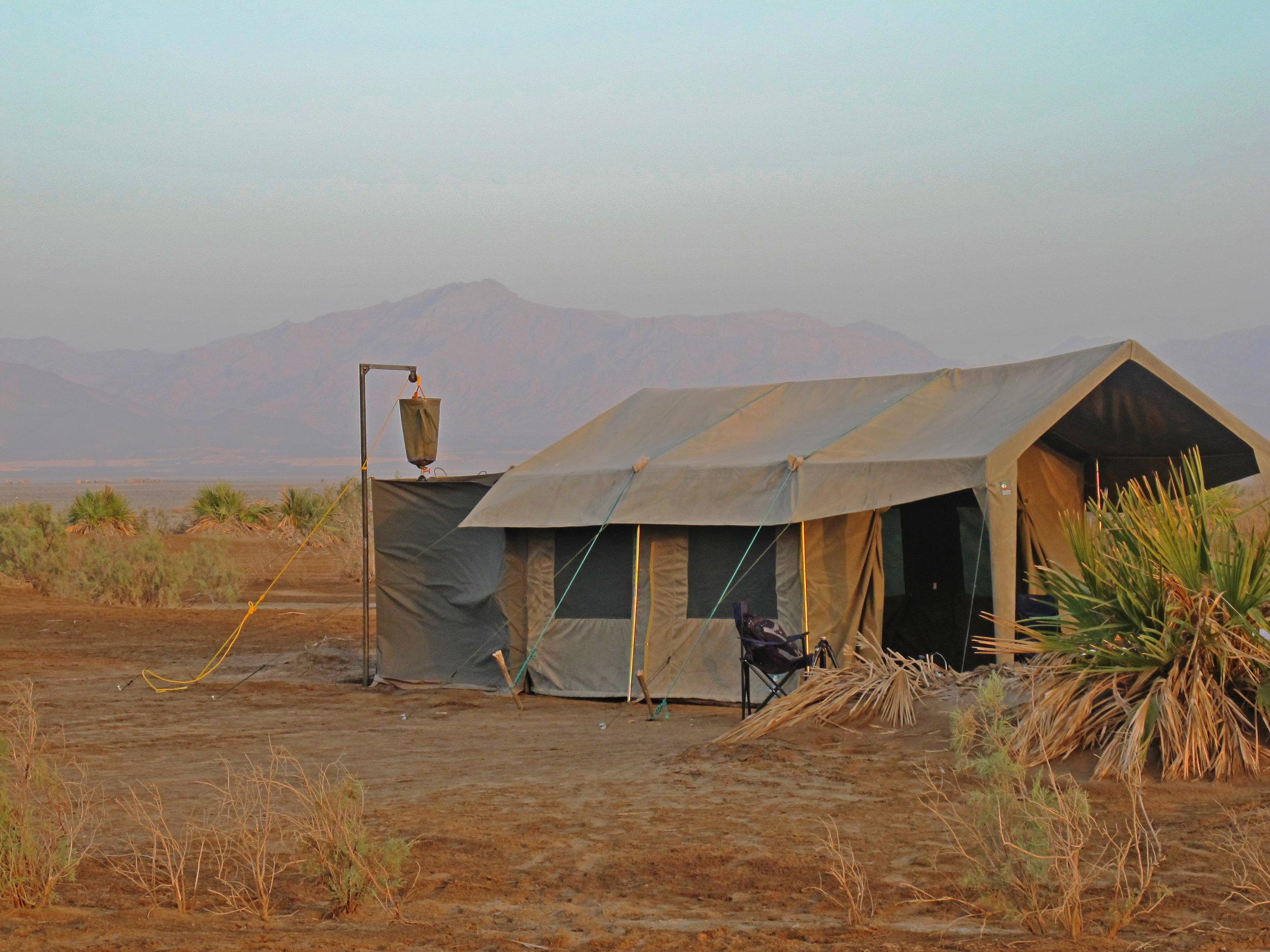 Danakil Private Mobile Camp