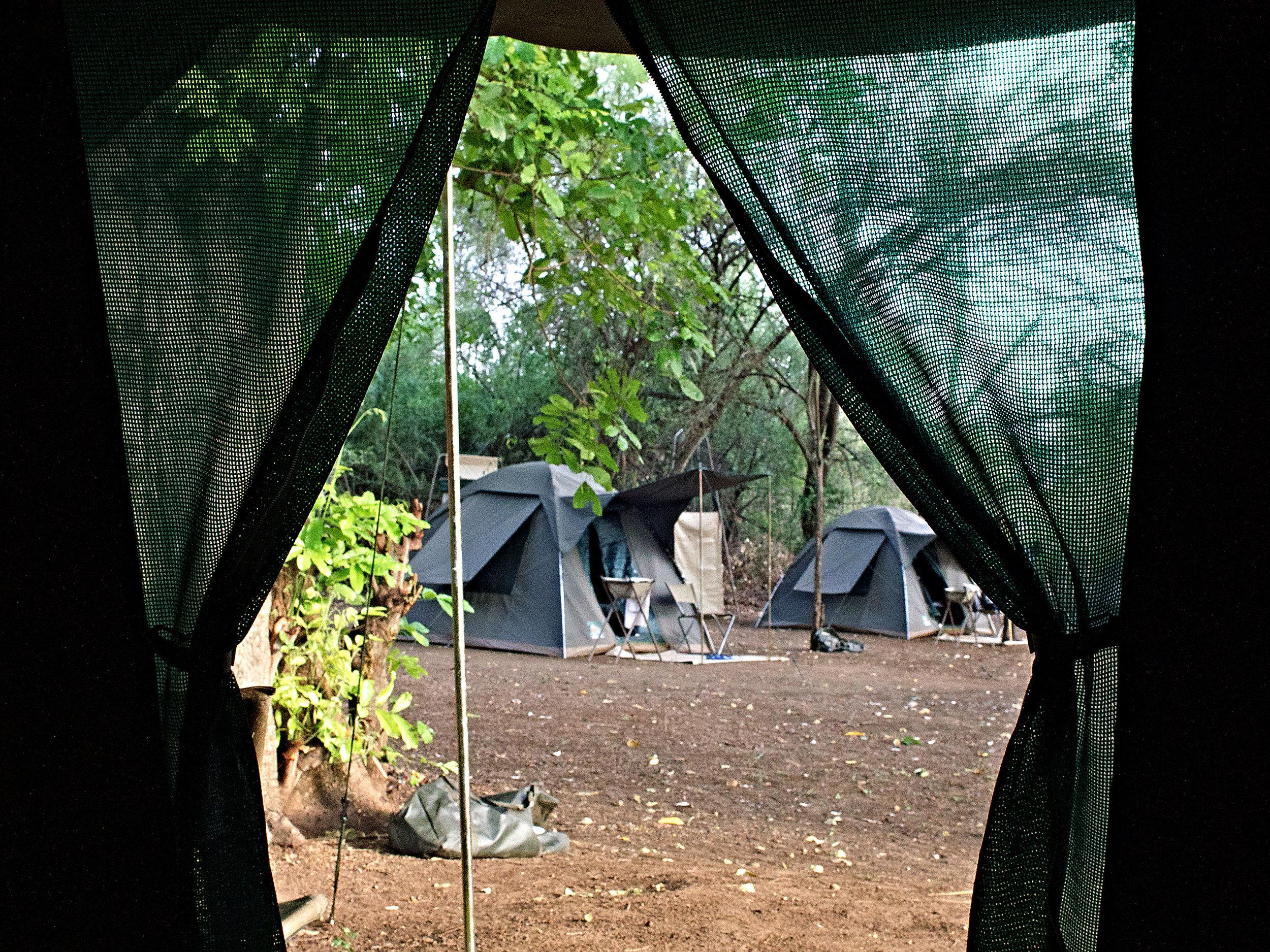 Mursi Fly Camp