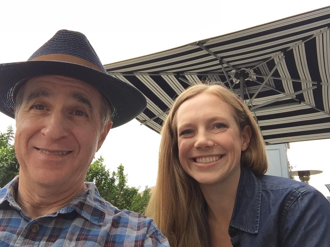 Al Castino and Rachel Mertensmeyer smiling .jpg