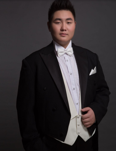 "CONGJU SONG, Tenor  (Alfred)  CongJu Song is a graduate student at the Mannes school of Music, student of Bonnie Hamilton and Joshua Greene. CongJu's roles include: Tony in Leonard Bernstein(National Centre for the Perfoming Arts,National Music Hall of China Conservatory; MSU Opera Theatre,(Detroit Opera House),Turiddu in Mascani's Cavalleria rusticana(Beijing Concert Hall),General in Guan's Mu Lan(Jiangsu Grand Theatre),Ge San in WeiDong's Valley of Red River (National Music Hall of China Conservatory),Su Wu in WeiYa's Su Wu in Han dynasty(National Music Hall of ChinaConservatory), Eisenstein in Karl Haffner's Die Fledermaus (National Centre for the Performing Arts,Beijing Tianqiao Performing Arts Centre),Immortal in The Three orphans(National Music Hall of China Conservatory). Other recent credits include:Don José in Carmen's ""C'est toi!C'est moi!"" (National Music Hall of China Conservatory), Rodolfo in La Bohème's act 3 (China Conservatory of Music), Alfredo in La Traviata's ""Parigi,O cara"" (China Conservatory of Music),Monsieur in Der Schauspieldirektor ""Schlußgesang"" (Mannes school of Music),Max in Der Freischütz""Trio""(Mannes school of Music). Some important concerts CongJu sang include: ""Exploring Sonic Frontiers"" in Carnegie Hall(soloist), ""Chang'An Gate"" in Musikverein (soloist),""Travel Faraway Across the Sea to See You"" in Sydney Opera House (Duet), ""José Carreras Final World Tour (Life in Music)"" in Beijing Poly Theatre(Soloist),Classical also prevails National Tour in Chinese Poly Theatre (Soloist)."