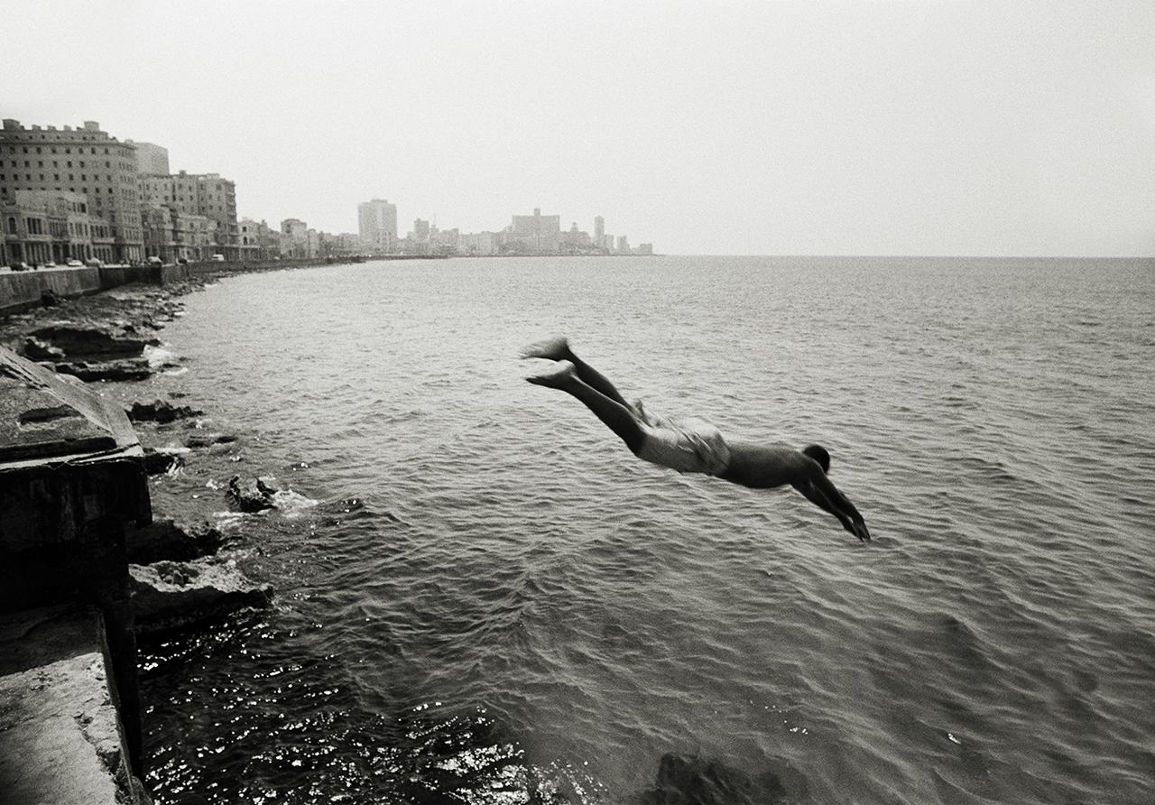 The Malecon, Havana, Cuba 1999.