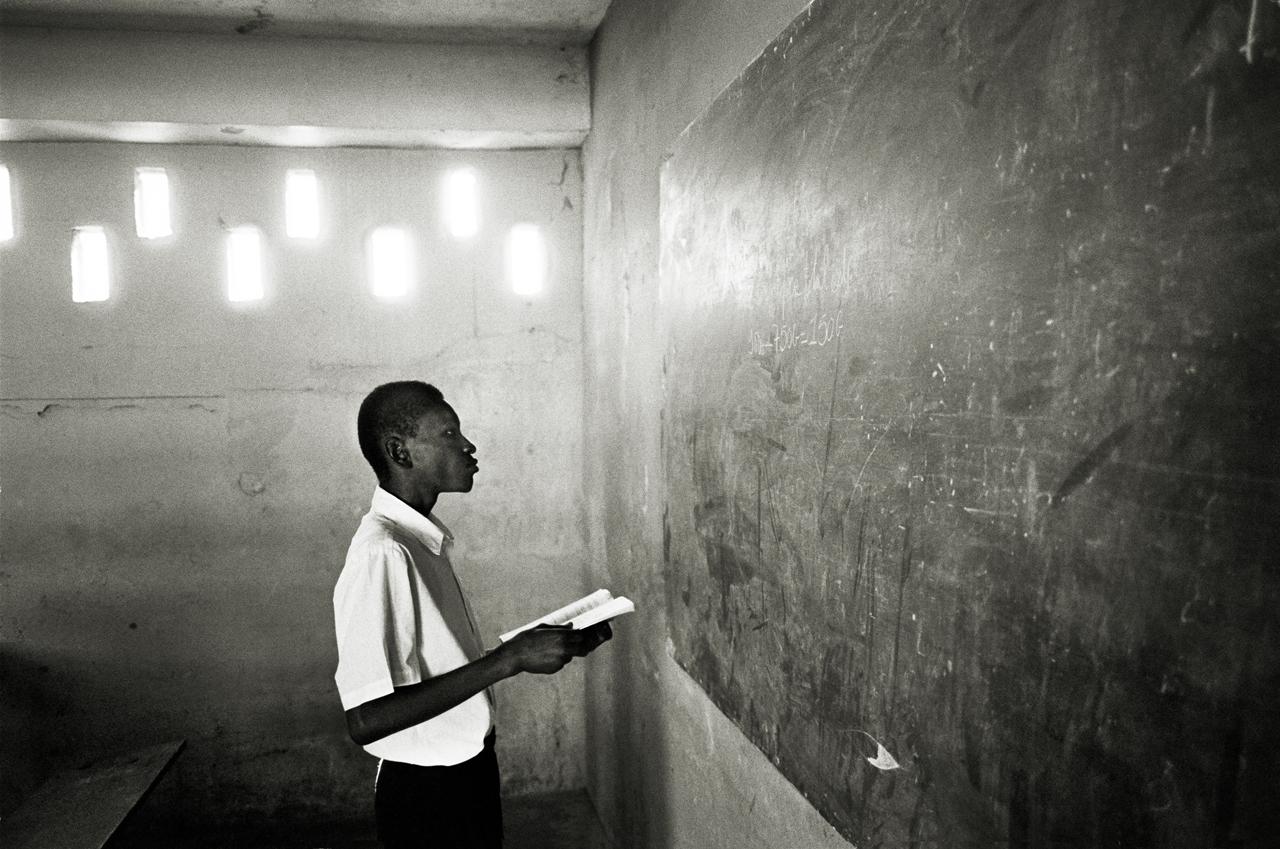Student, Port au Prince, Haiti 2002