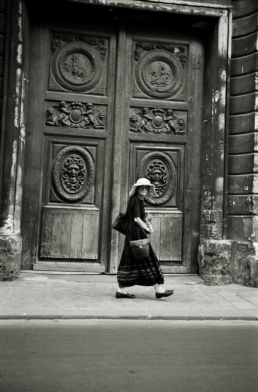 Medusa Doorway, Le Marais, Paris 2002.