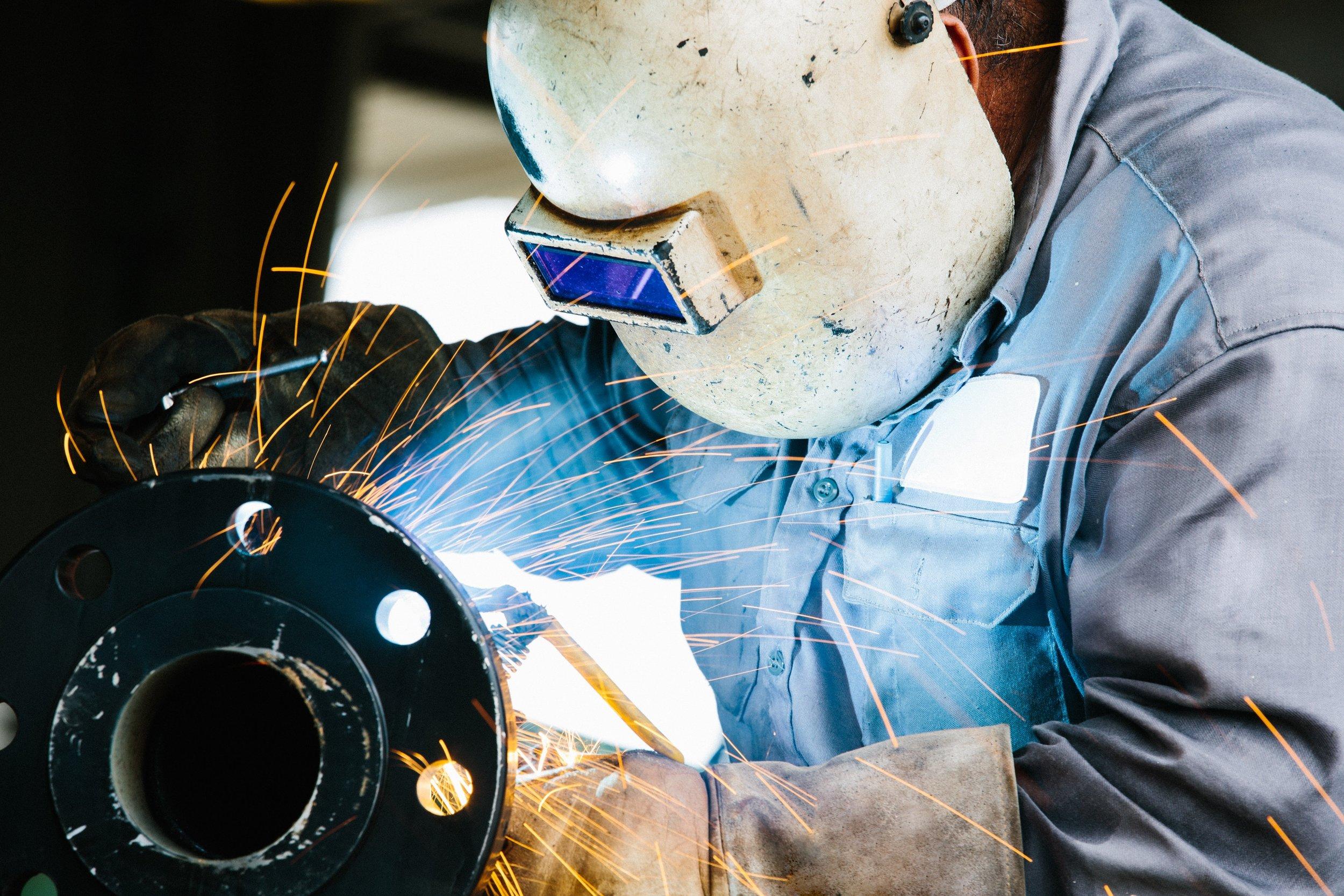 Welder Compensated for Lost Wages & Medical Bills After Shoulder Injury -