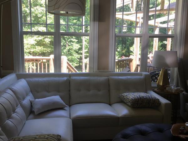 Furniture at retreat