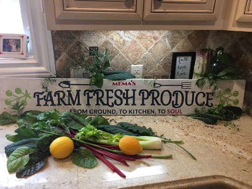 Farm Fresh Produce - from ground, to kitchen, to soul
