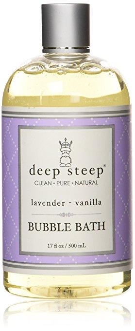 Deep Steep Classic Bubble Bath Lavender Vanilla 17 Ounce.jpg