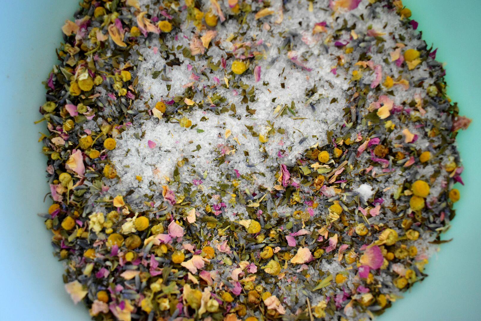 The semi-minimalist bath herb mix.jpg