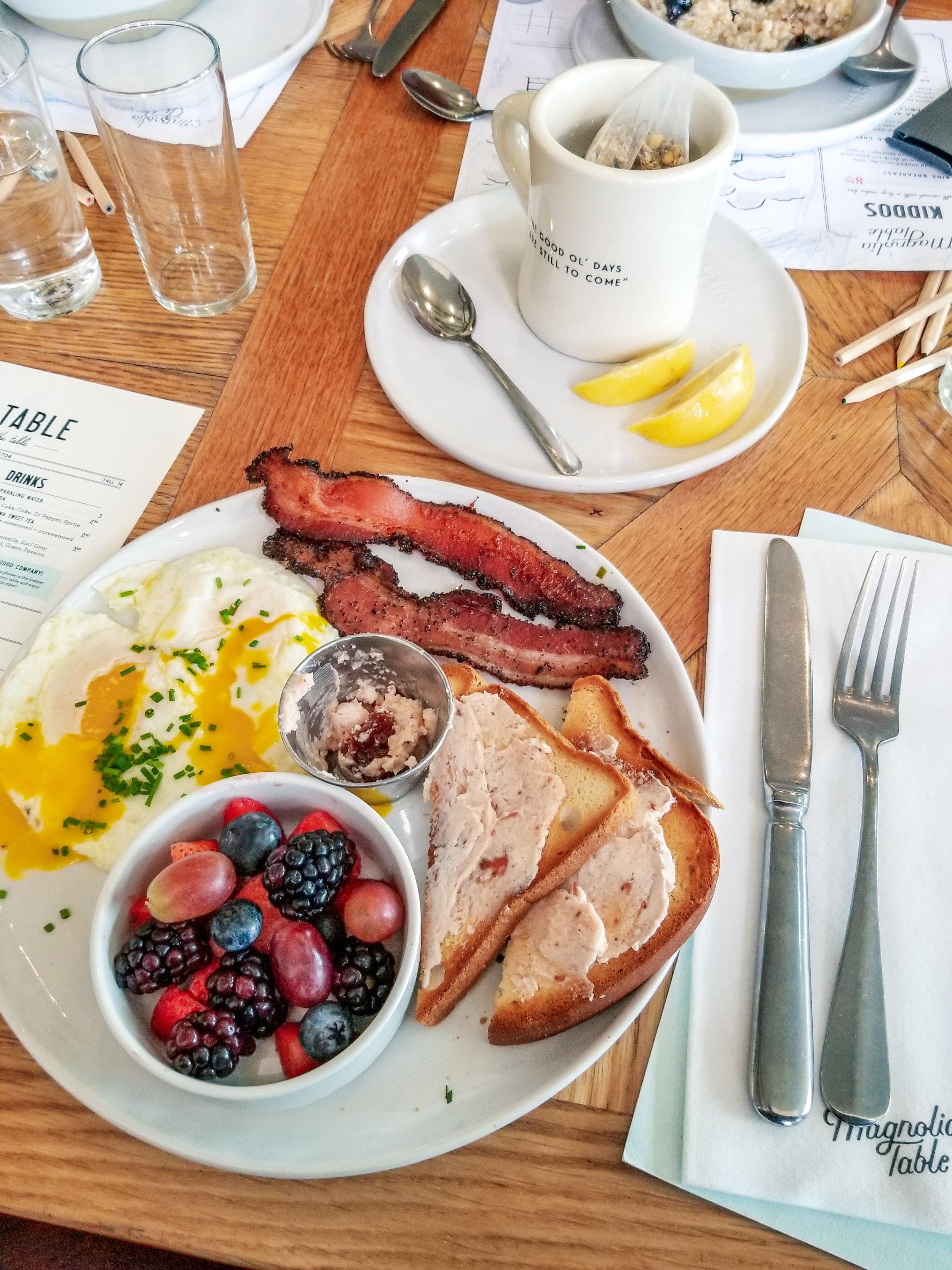 The Semi Minimalist Magnolia Table Breakfast.jpeg