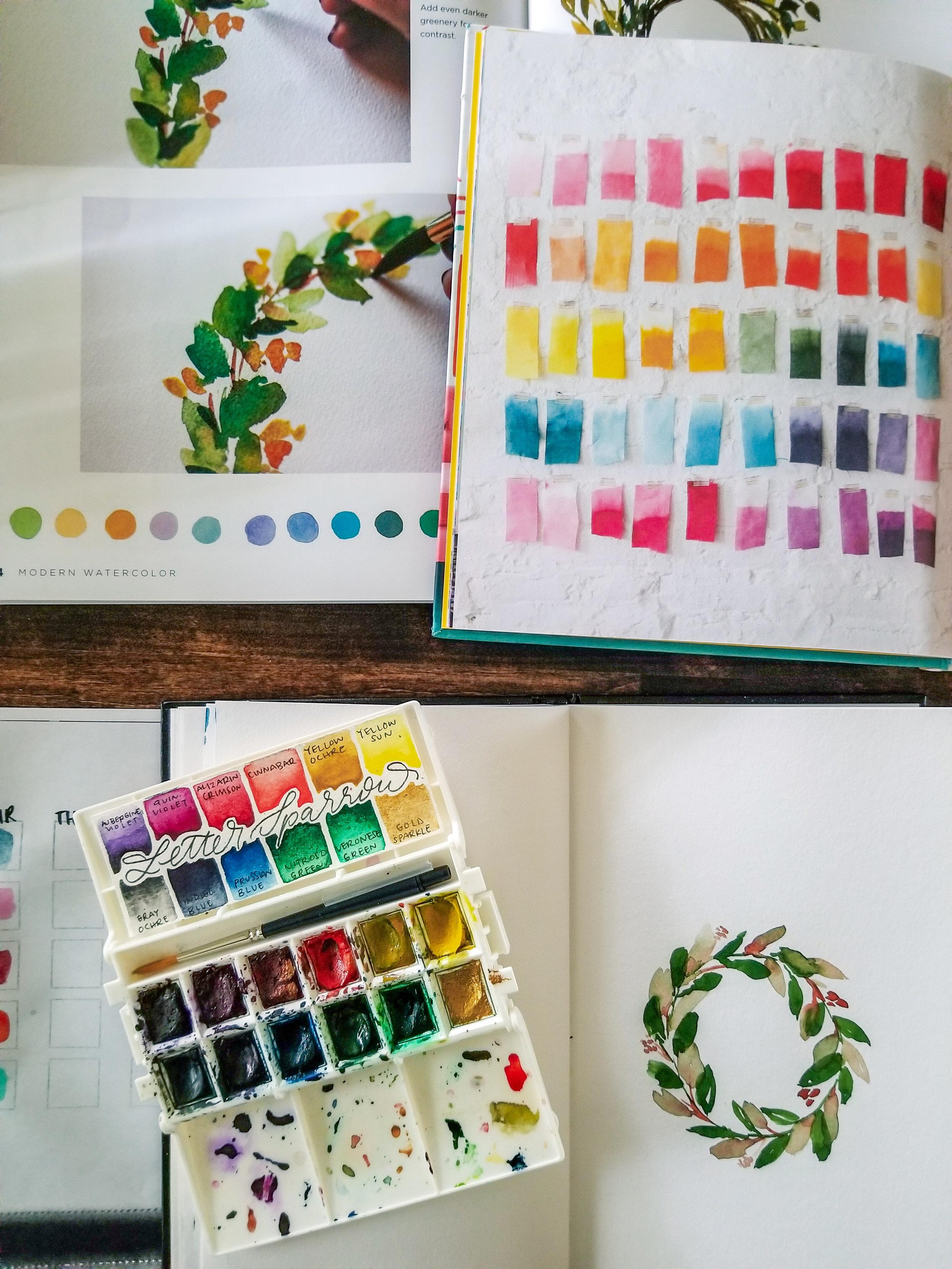 The Semi-Minimalist Wreath Watercolor.jpeg