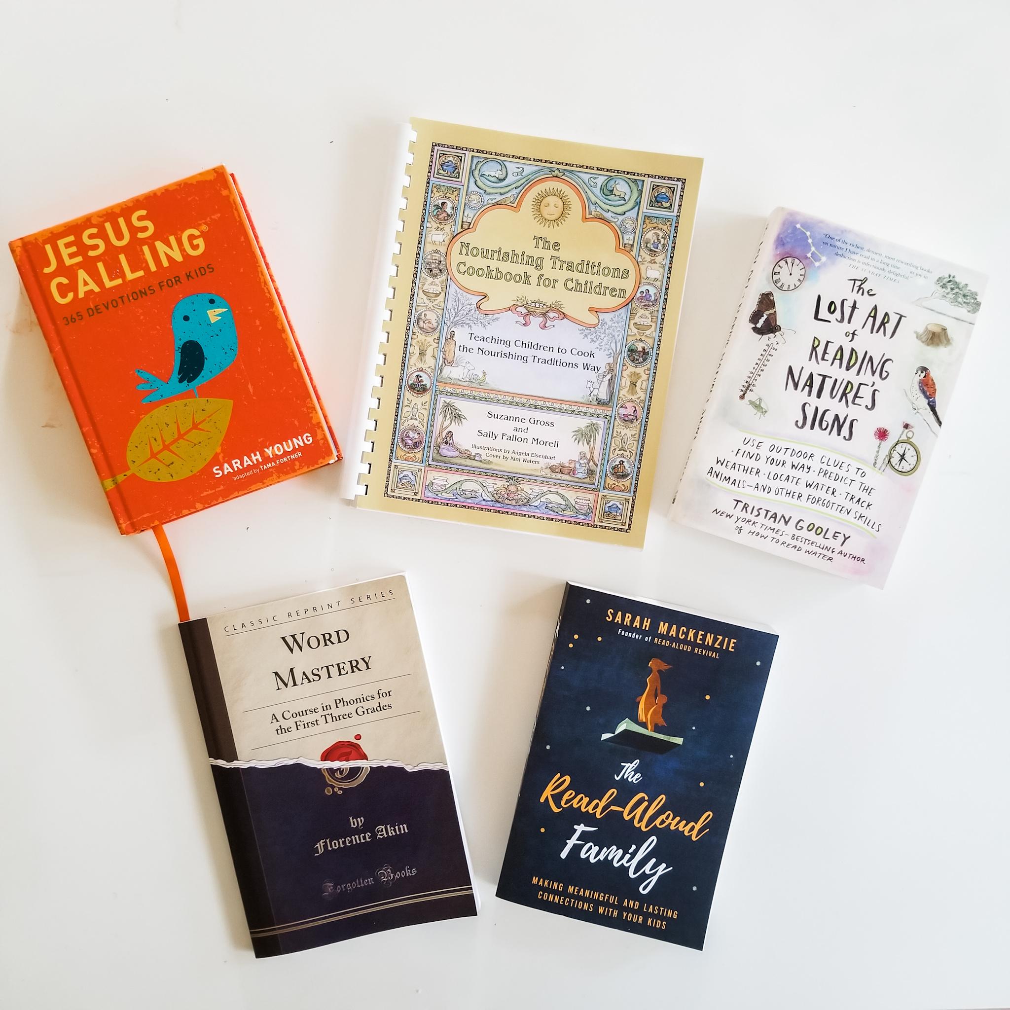 Charlotte Mason Homeschool Books The Semi-Minimalist.jpeg