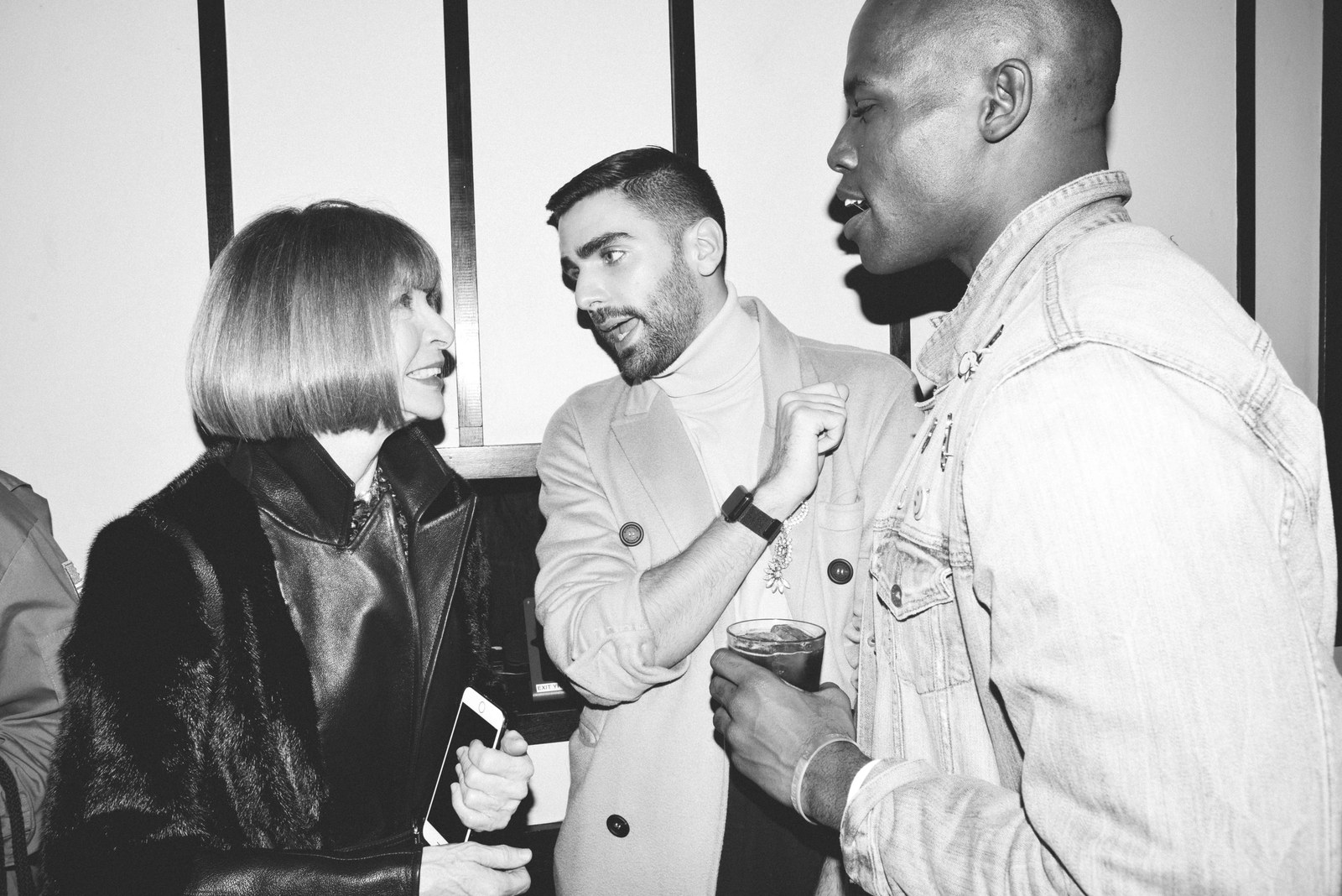 them. Launch Party - Anna Wintour