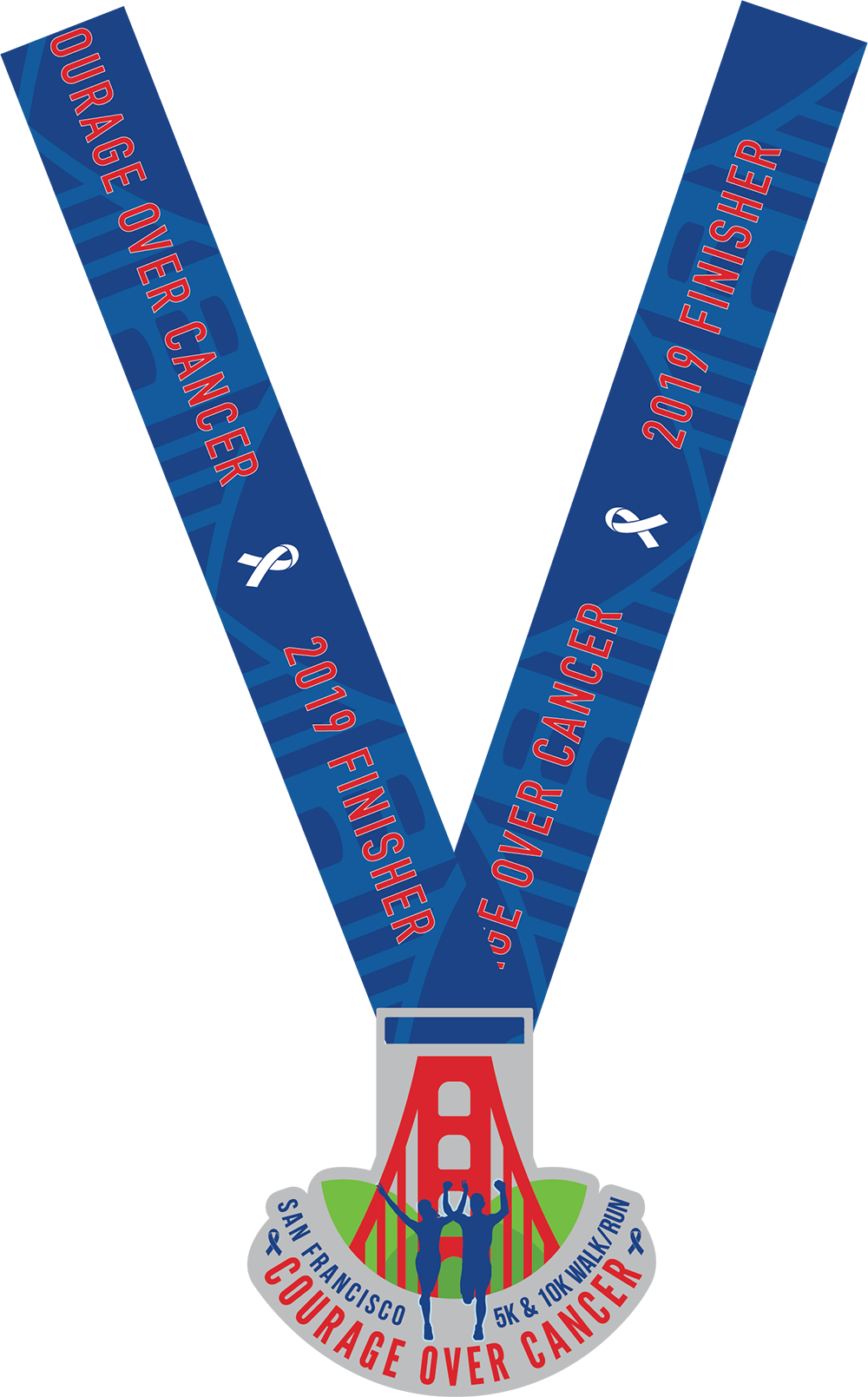 Courage over cancer medal and ribbon.png