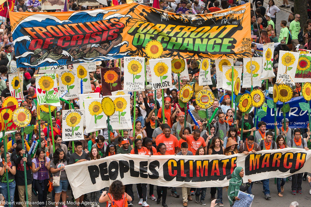 Peoples Climate March - Sep 21, 2014
