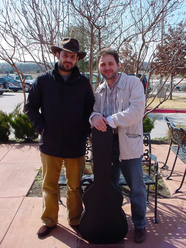 With  Vadim Timinsky , Classical Guitar Studio, Dallas, TX, 2010