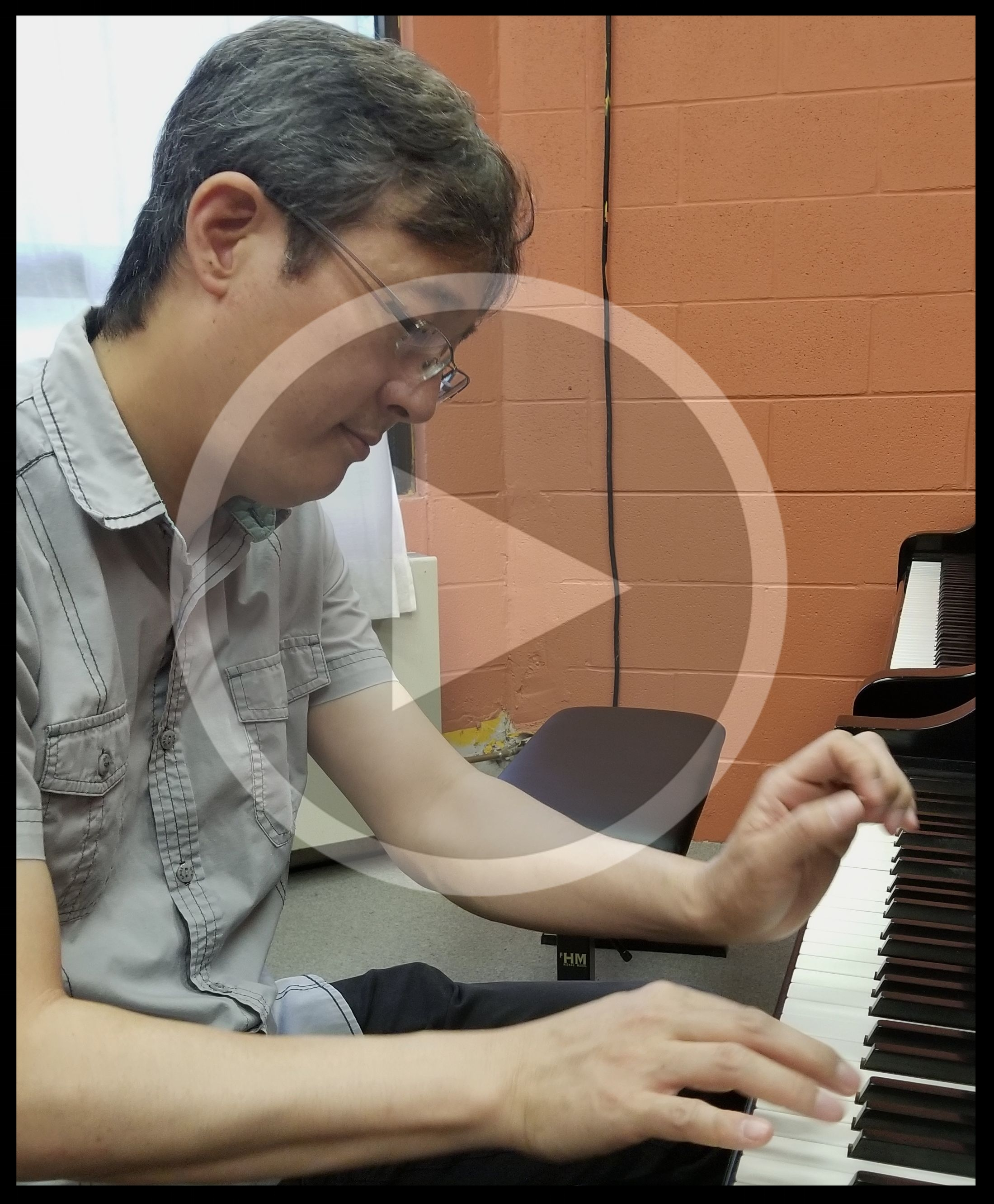 Episode 4: Dr. Naoki Hakutani   Dr. Naoki Hakutani,  Professor of Piano  at UA Little Rock, loves playing and teaching piano to students of all ages. How does he approach a new piece? How does he engage his students? And what passion drives him to persist when he doesn't love practicing piano? You can hear him in a piano trio  here  and performing solo  here .  After listening, you'll find yourself wanting to play piano and revisit old masters. If nothing else, you'll take delight in Beethoven in a whole new way.
