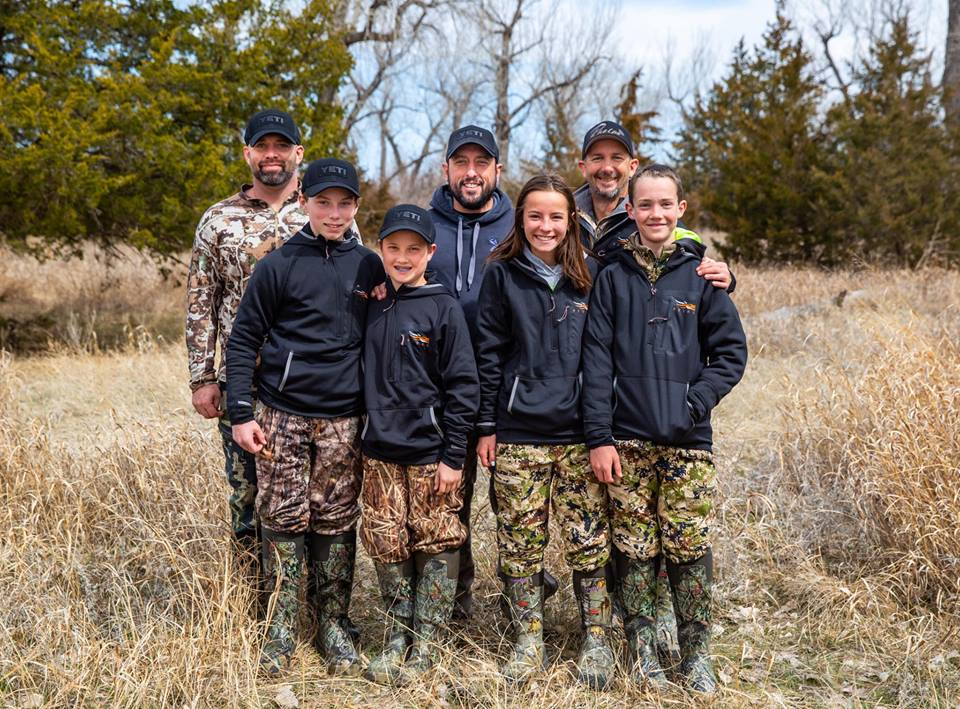 #inspiredwild Podcast #004  - Round table discussion with colt hosick, chad graham & garrett drach - Kids in the outdoors