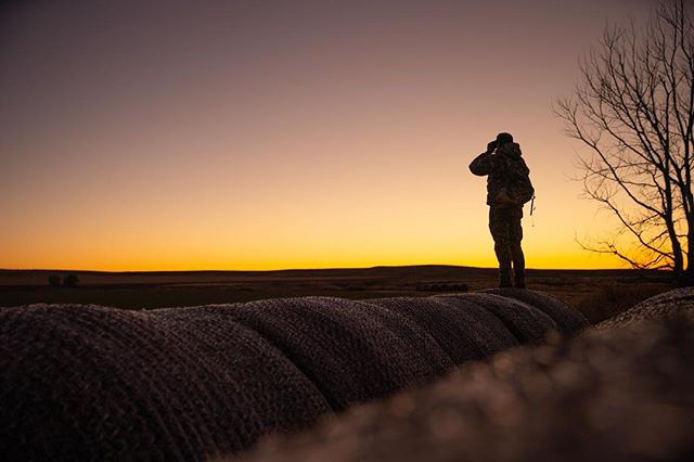 @s_l_brown takes a last look at an amazing day in amazing country in Western Nebraska... Already looking forward to tomorrow! #builtforthewild #inspiredwild #sickforit #conquermore @yeti @sitkagear @mtnops . . . 📷 by @dustin_etheredge